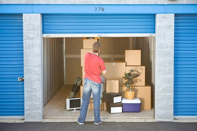 אחסון תכולת בית בחדרי אחסון